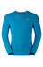Odlo Imperium T-Shirt L/S Men blue jewel-seaport